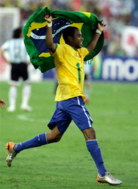 Robinho dancing it up